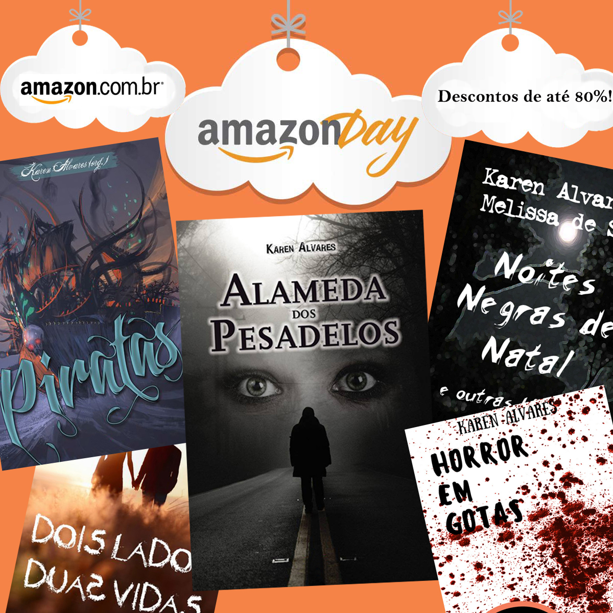 Descontos de até 80% no Amazon Day!