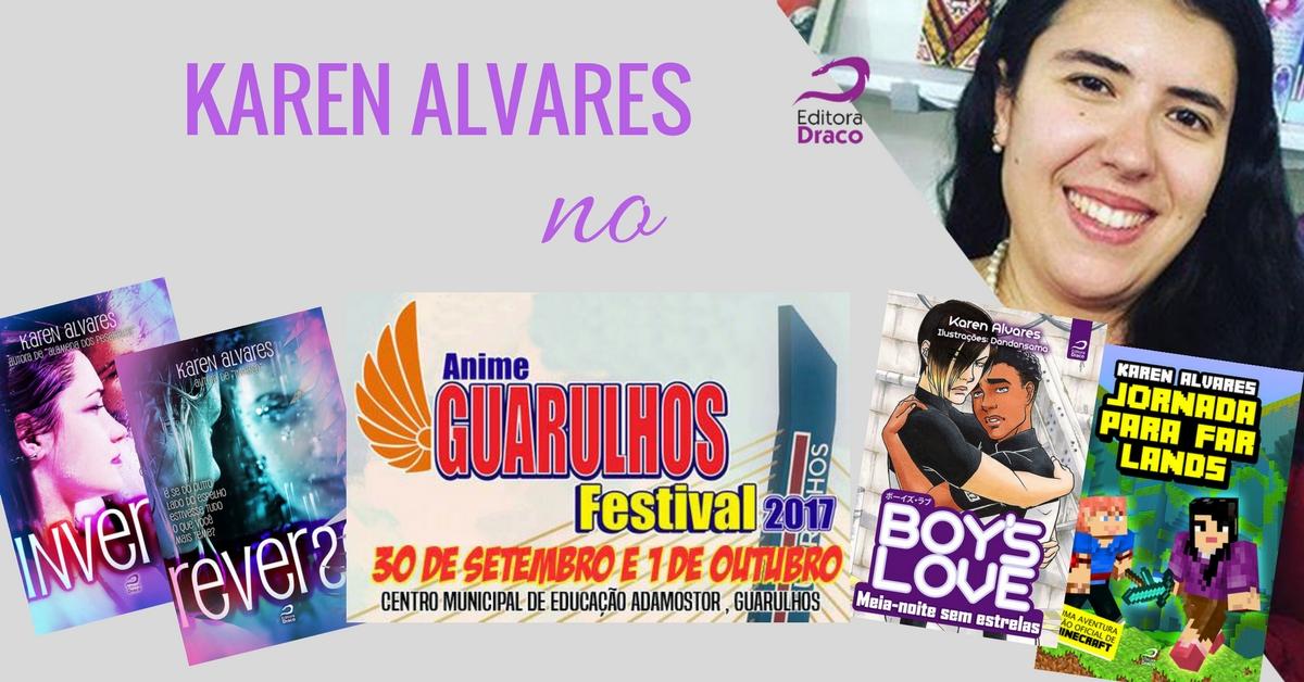 Karen Alvares no Anime Guarulhos Festival 2017